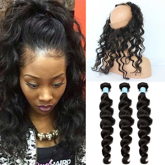 Human Hair Weft With Closure Stylez Beauty Supply
